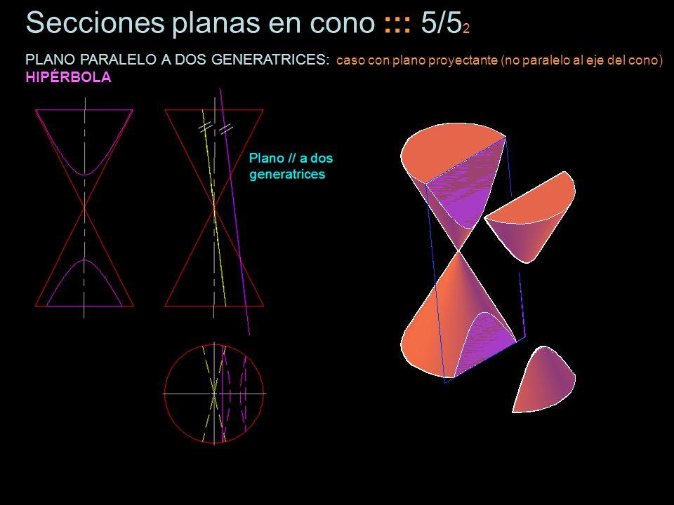 Secciones planas en cono ::: 5/52