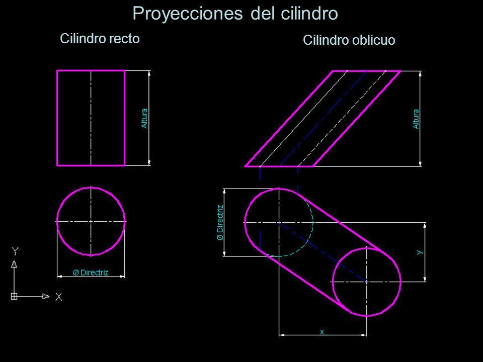 Proyecciones del cilindro