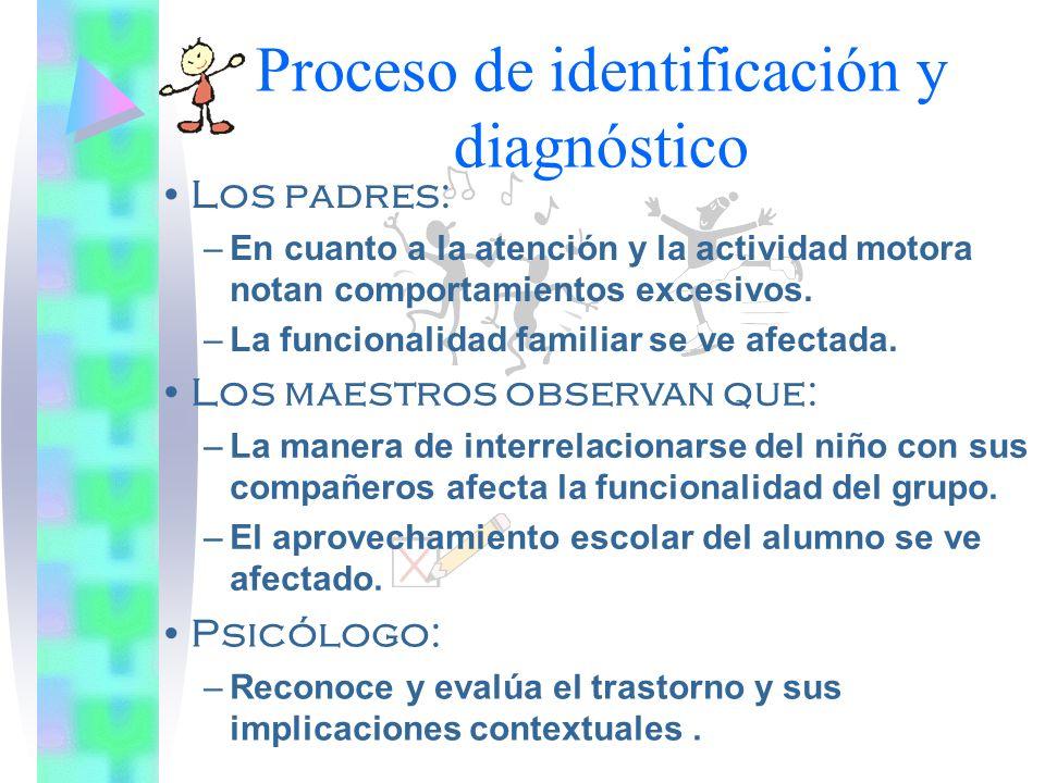 Proceso de identificación y diagnóstico