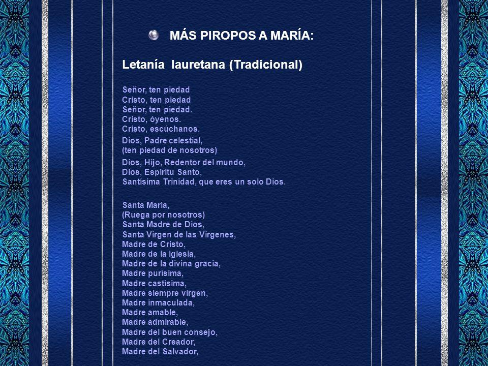 Letanía lauretana (Tradicional)