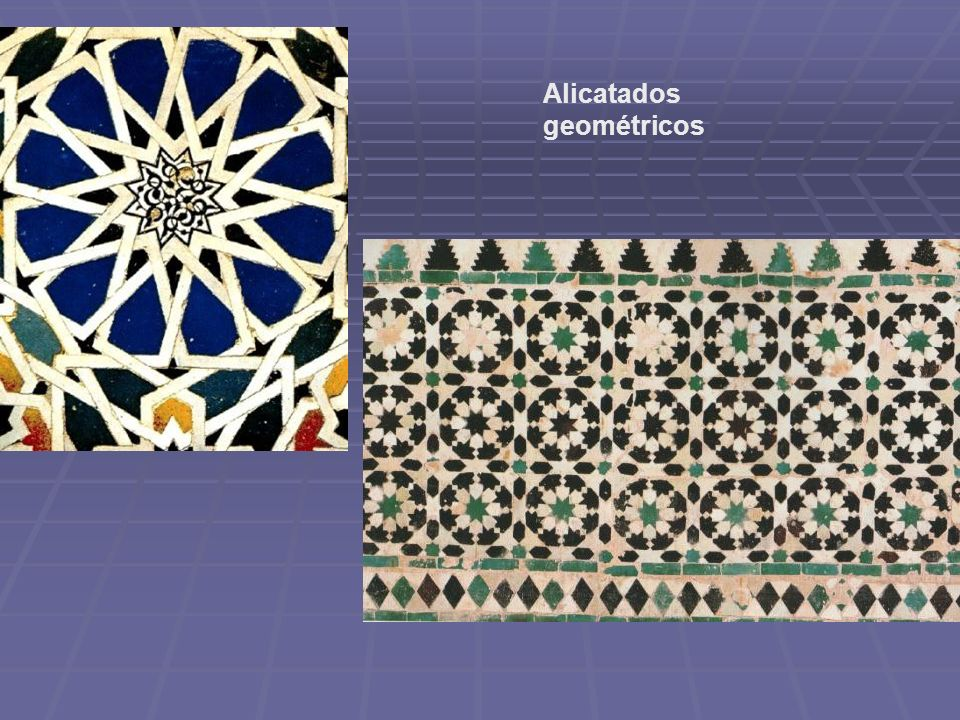Alicatados geométricos