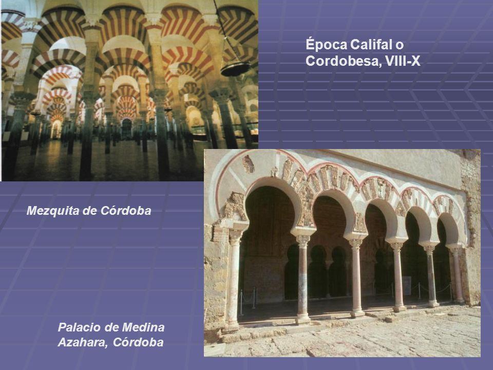 Época Califal o Cordobesa, VIII-X