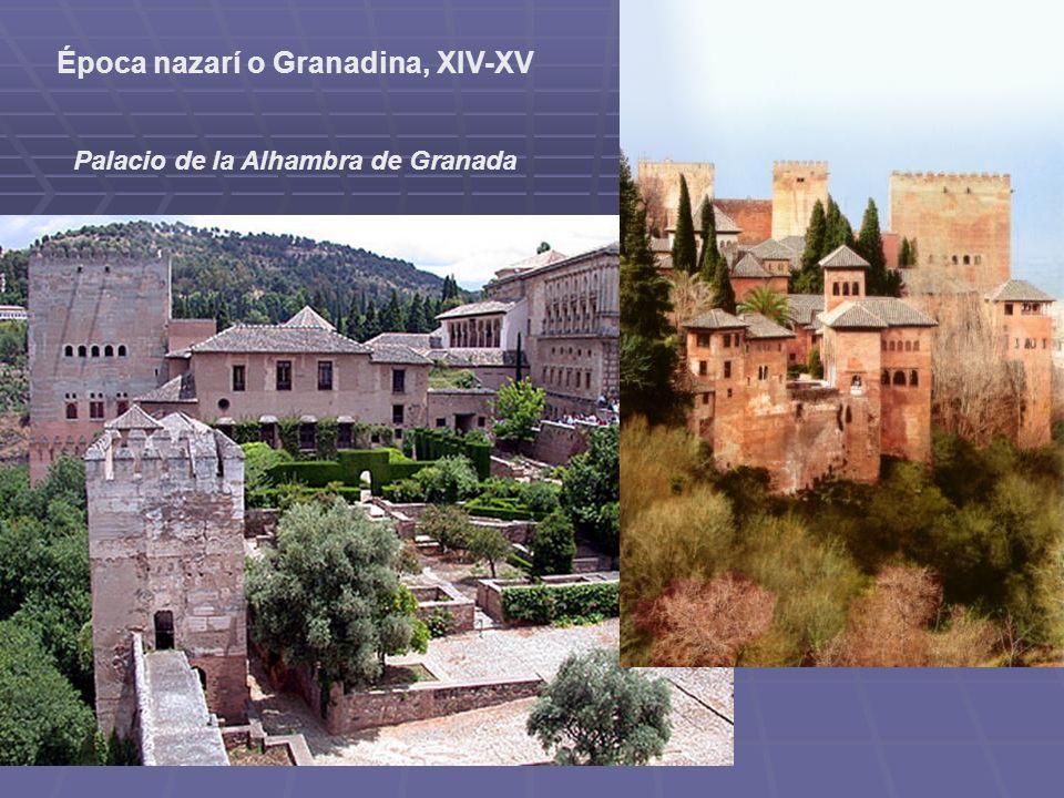 Época nazarí o Granadina, XIV-XV