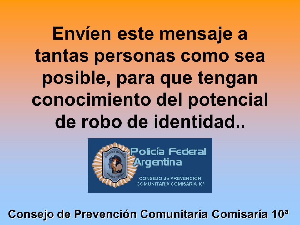 Consejo de Prevención Comunitaria Comisaría 10ª