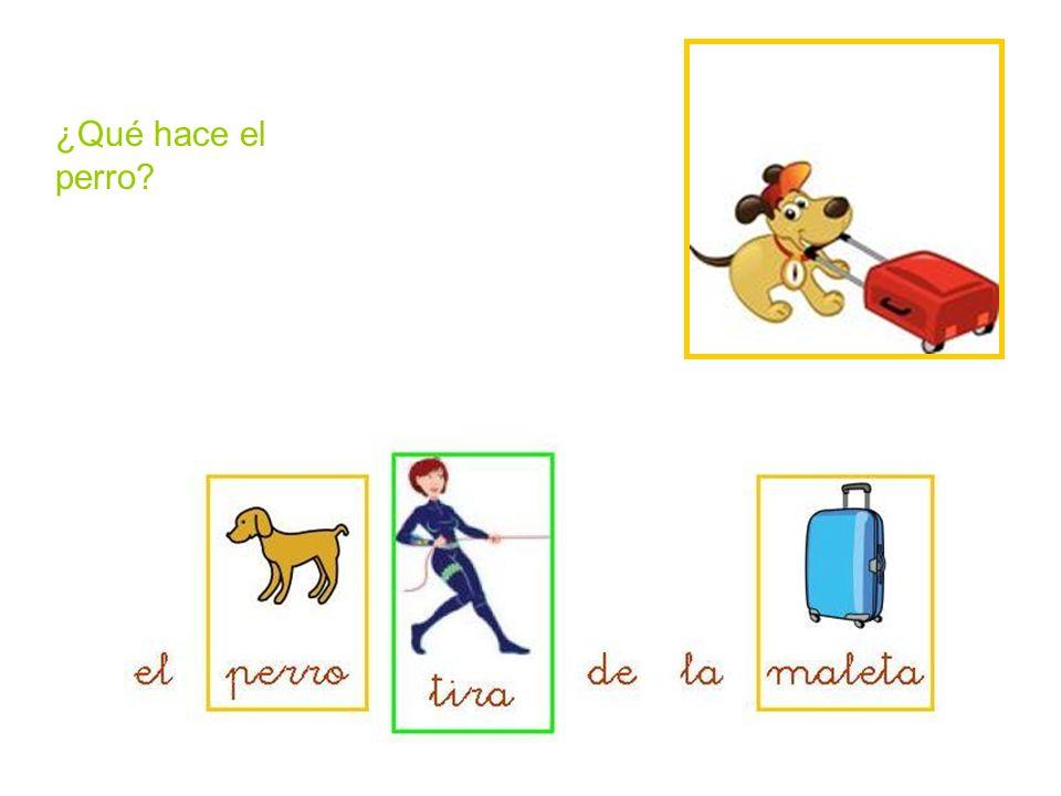 ¿Qué hace el perro