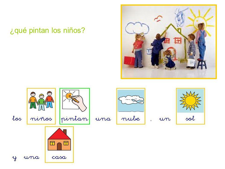 ¿qué pintan los niños