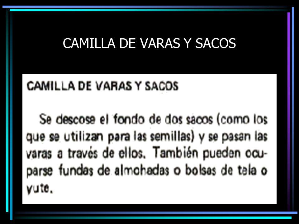 CAMILLA DE VARAS Y SACOS