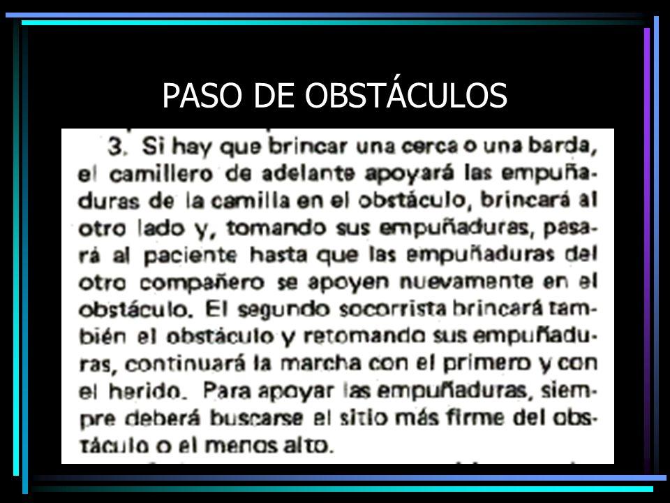 PASO DE OBSTÁCULOS