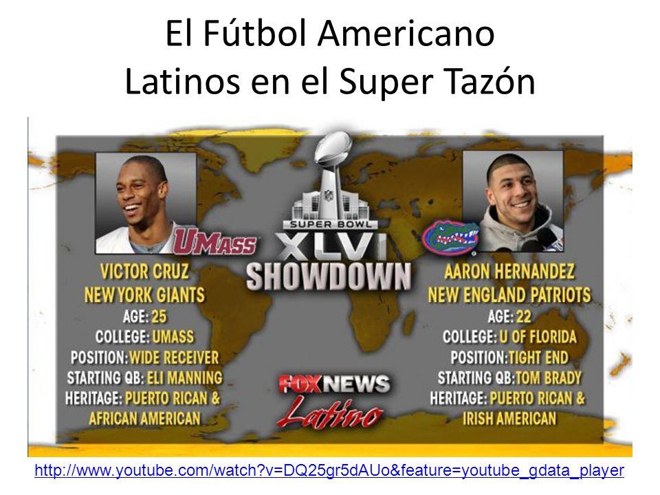 El Fútbol Americano Latinos en el Super Tazón