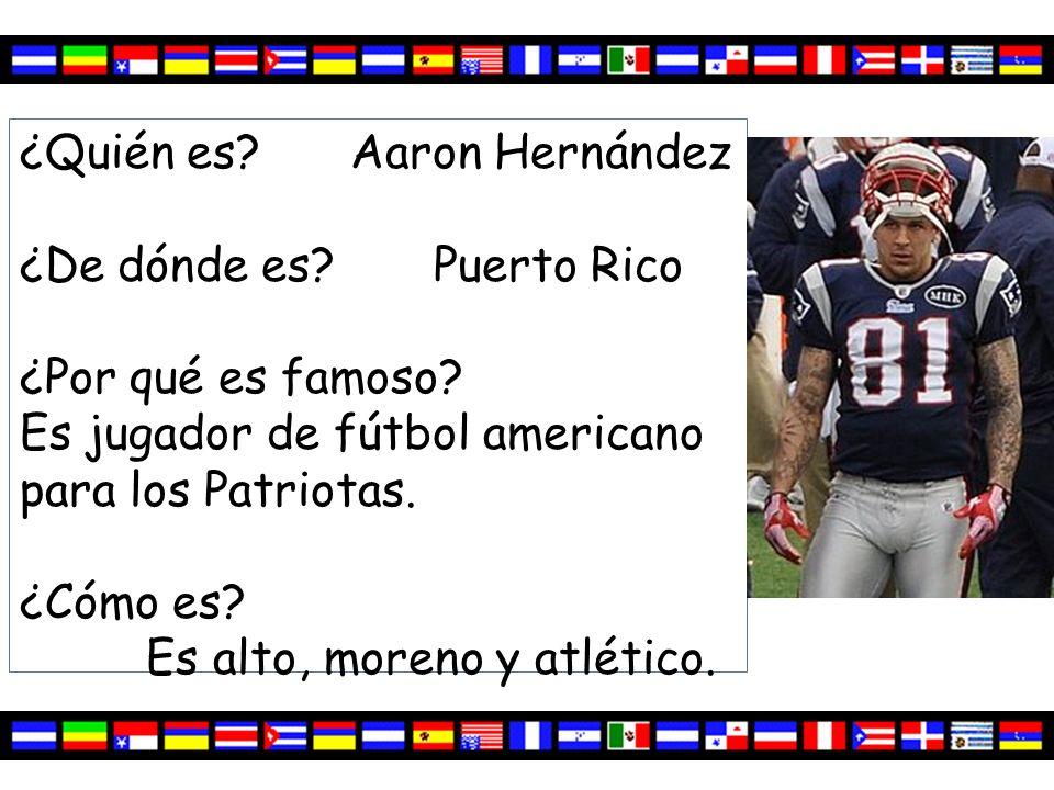 ¿Quién es Aaron Hernández