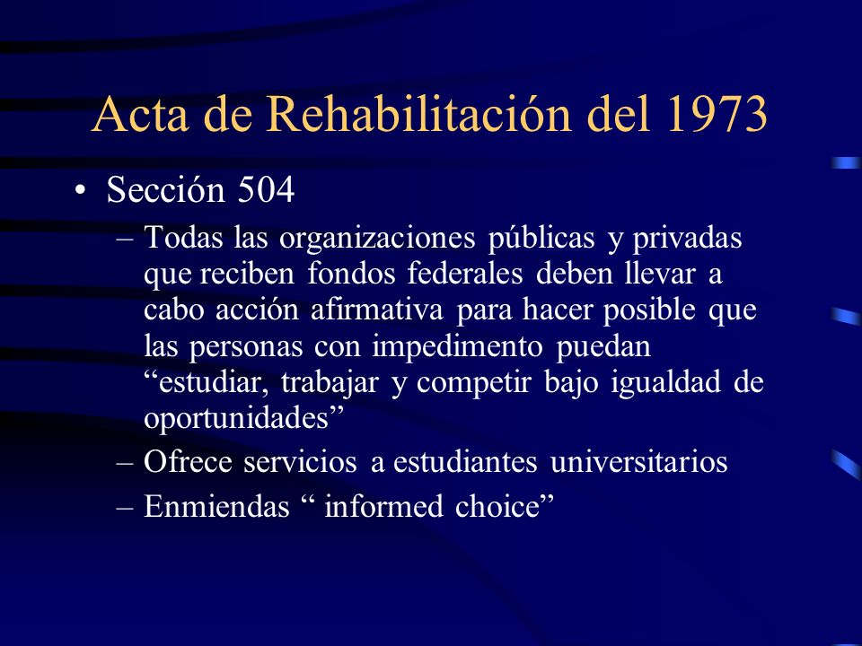 Acta de Rehabilitación del 1973