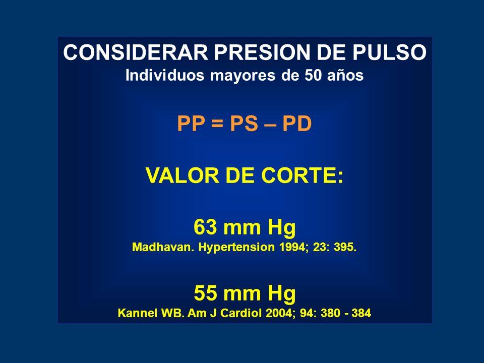 CONSIDERAR PRESION DE PULSO