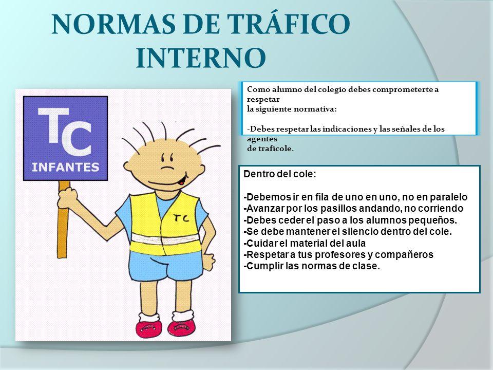 NORMAS DE TRÁFICO INTERNO