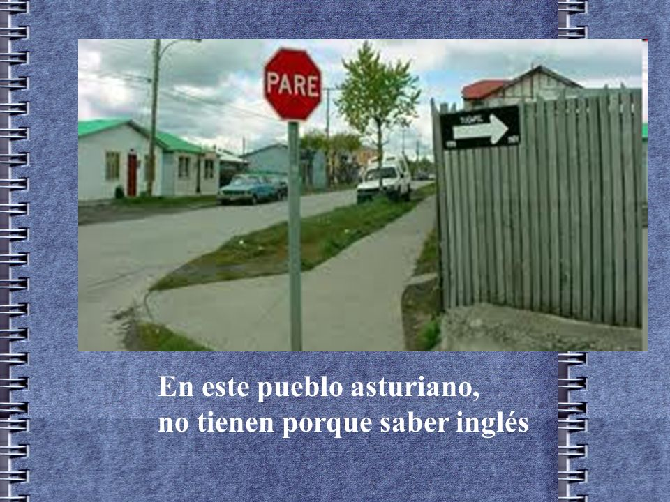 En este pueblo asturiano,