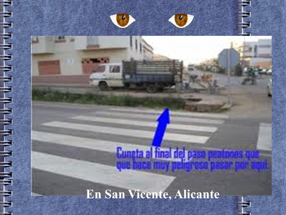 En San Vicente, Alicante