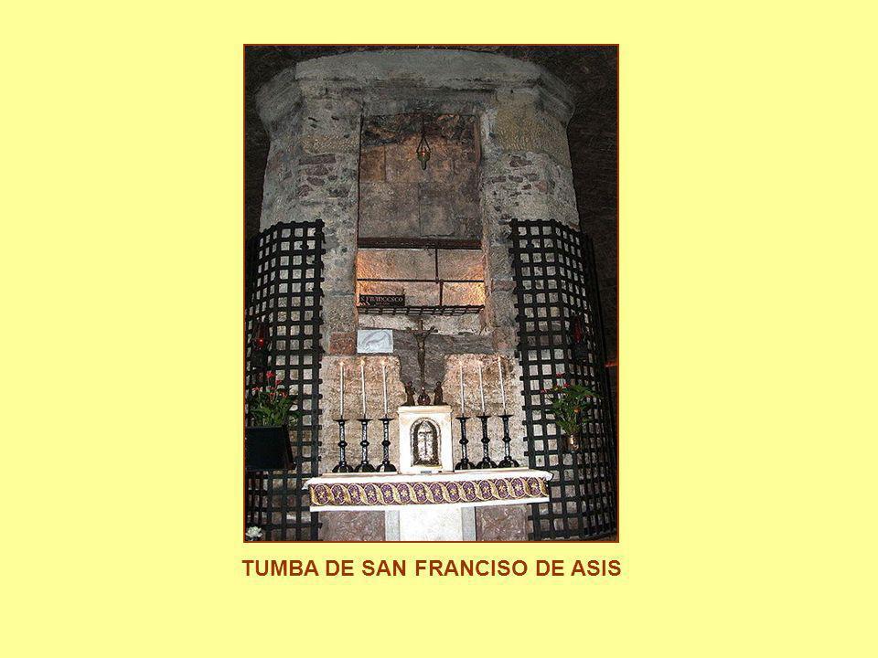 TUMBA DE SAN FRANCISO DE ASIS