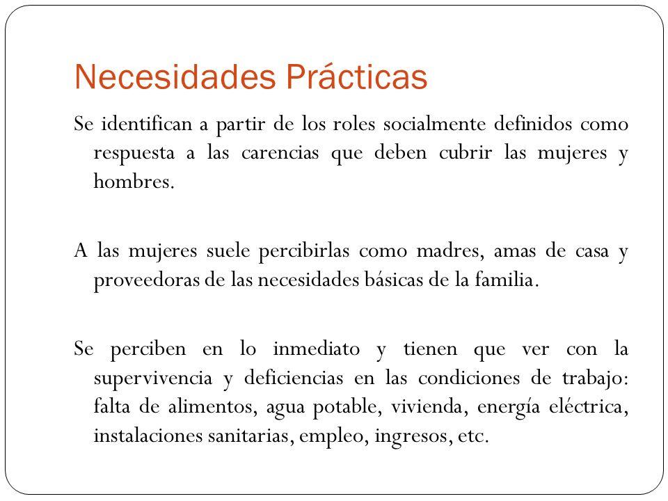 Necesidades Prácticas