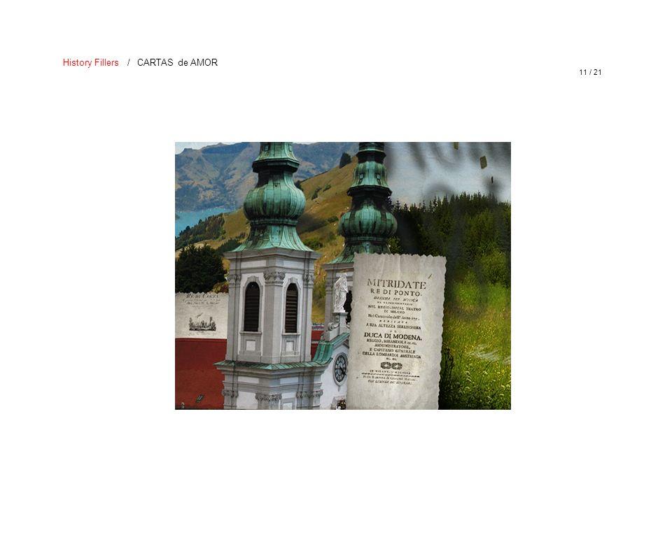 History Fillers / CARTAS de AMOR