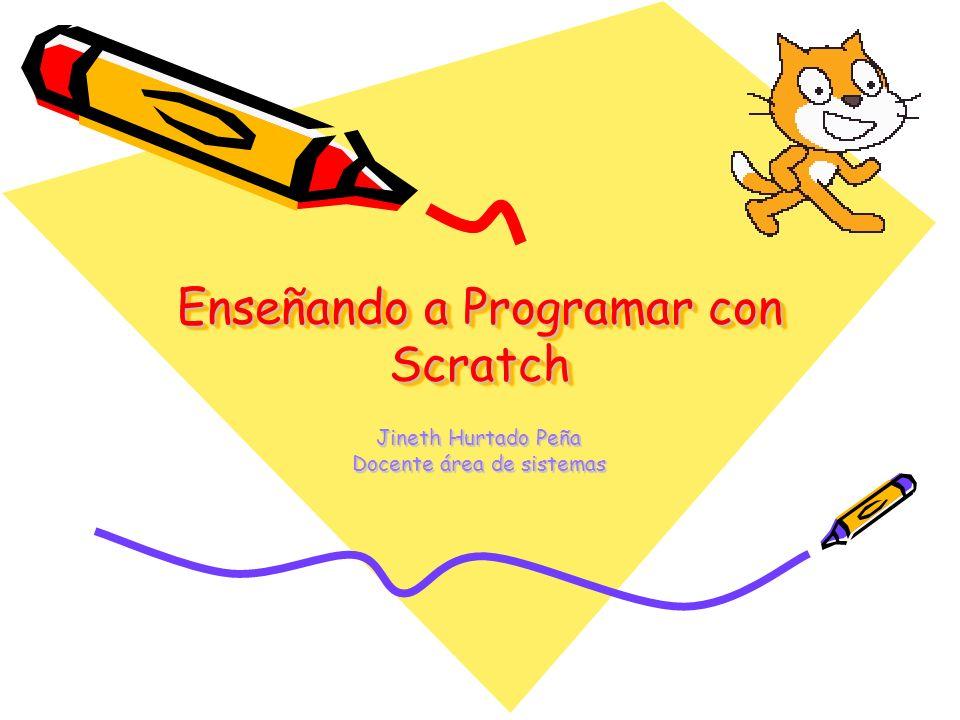 Enseñando a Programar con Scratch