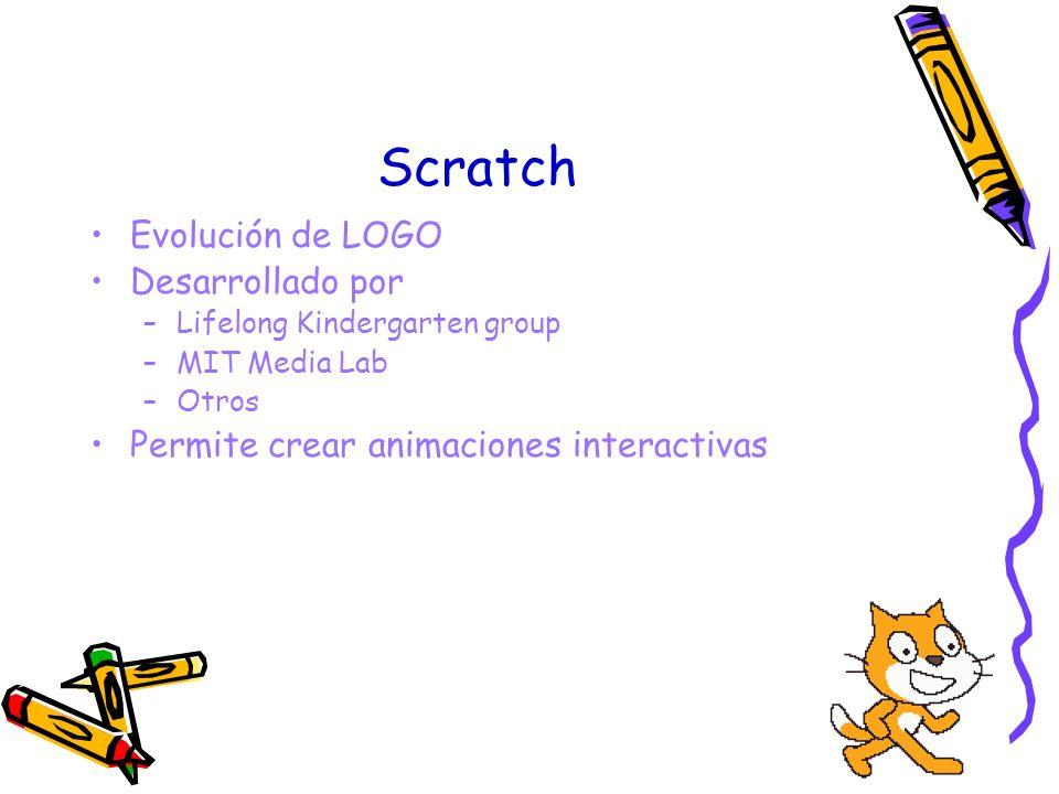 Scratch Evolución de LOGO Desarrollado por