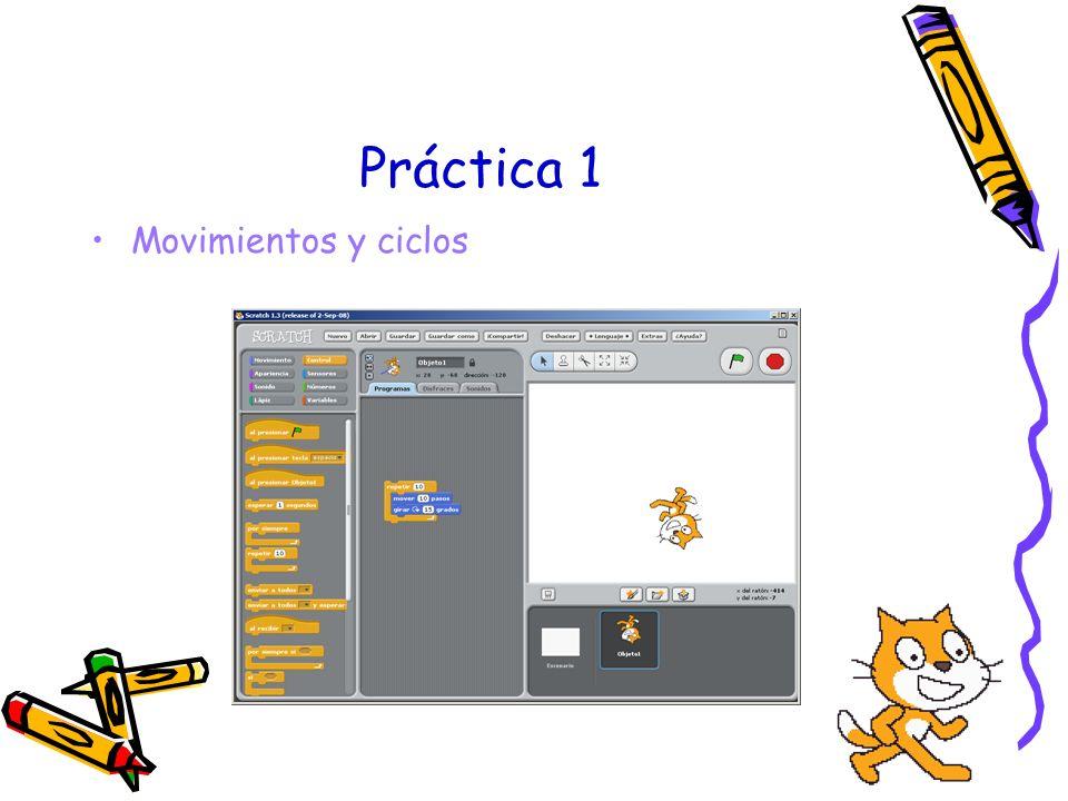 Práctica 1 Movimientos y ciclos