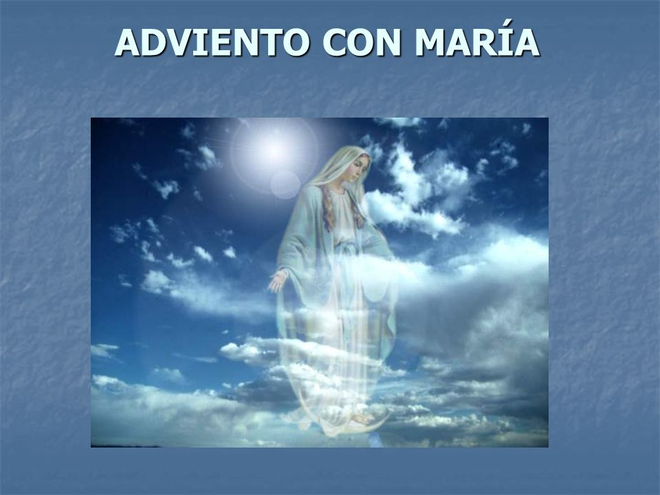 ADVIENTO CON MARÍA
