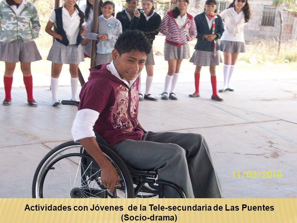 Actividades con Jóvenes de la Tele-secundaria de Las Puentes