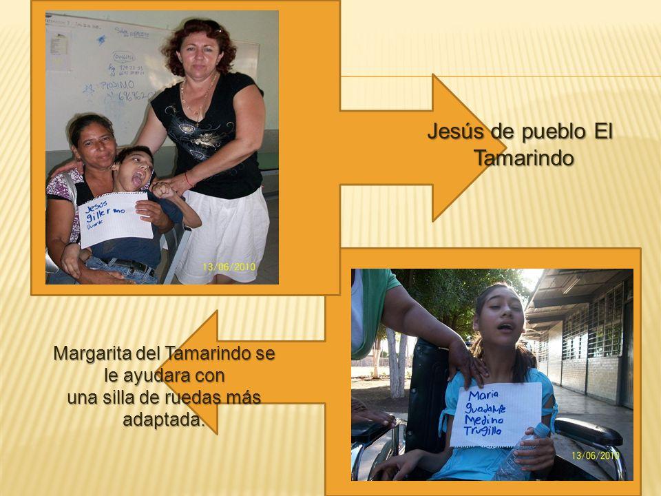 Jesús de pueblo El Tamarindo Margarita del Tamarindo se le ayudara con
