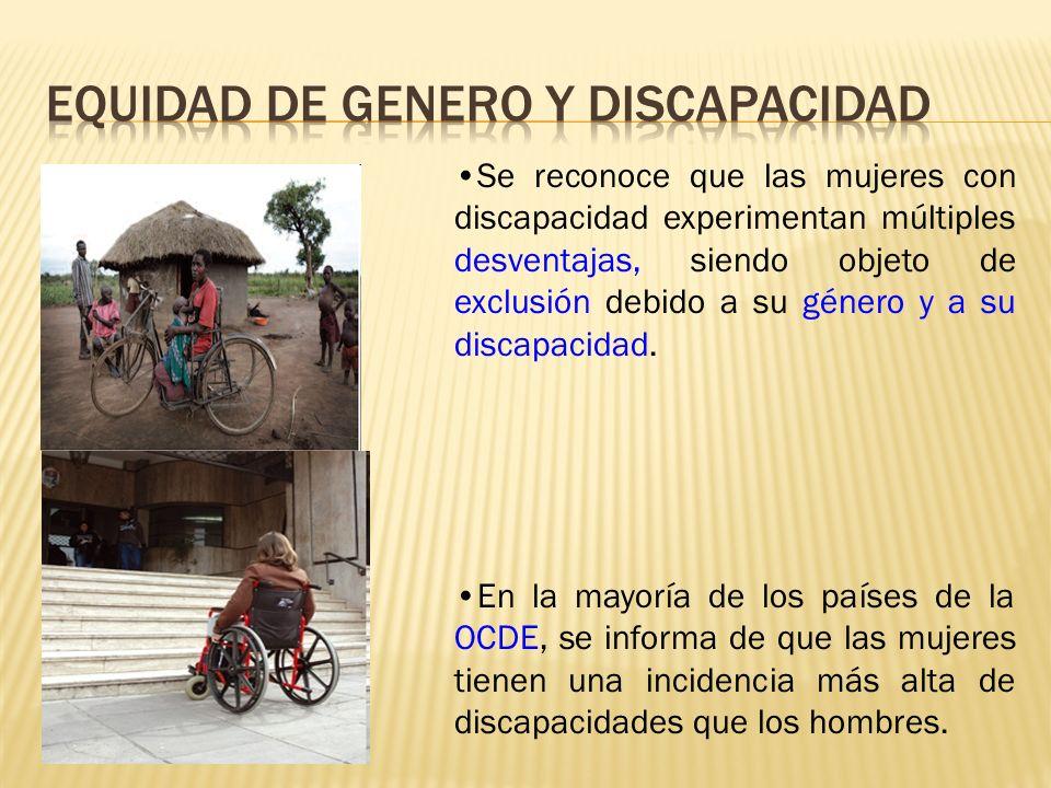 EQUIDAD DE GENERO Y DISCAPACIDAD