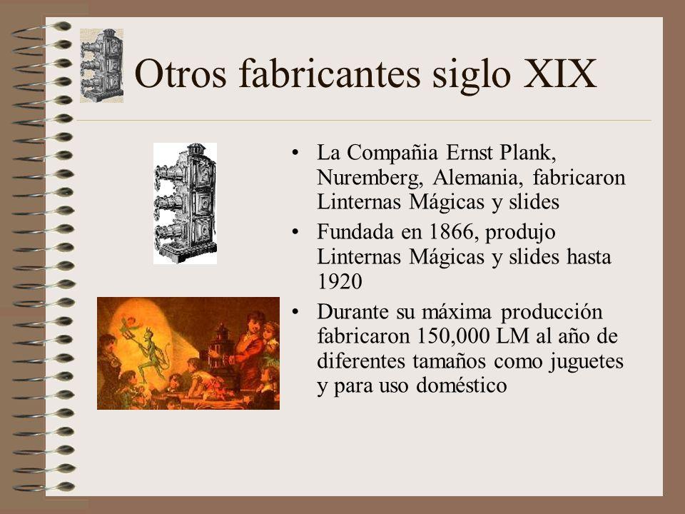 Otros fabricantes siglo XIX