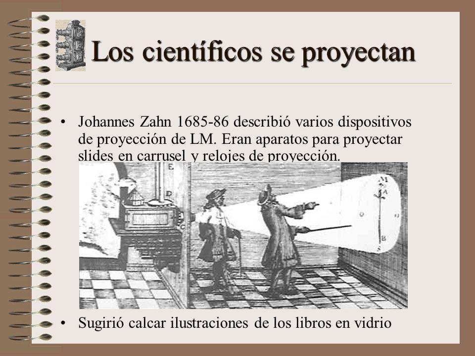 Los científicos se proyectan