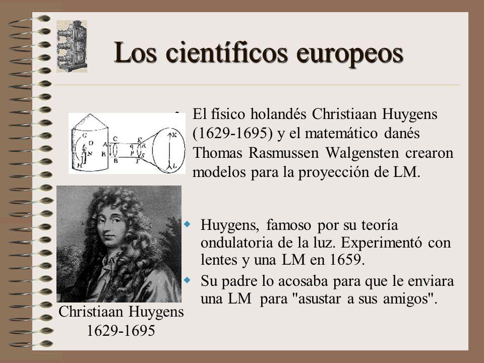 Los científicos europeos