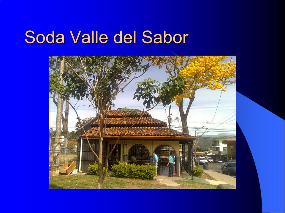 Soda Valle del Sabor