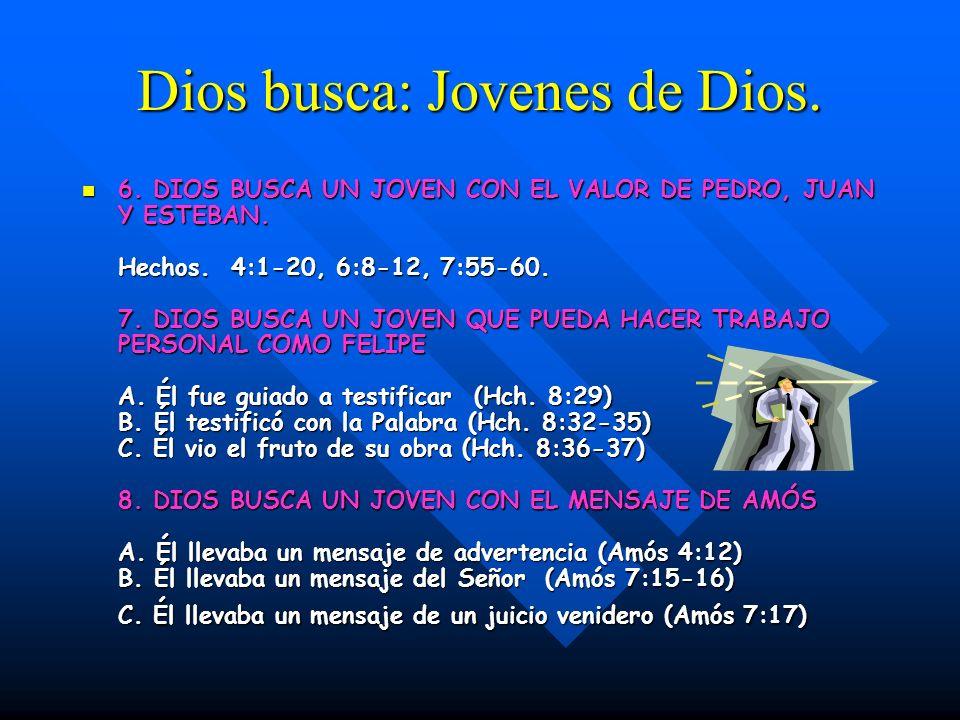 Dios busca: Jovenes de Dios.