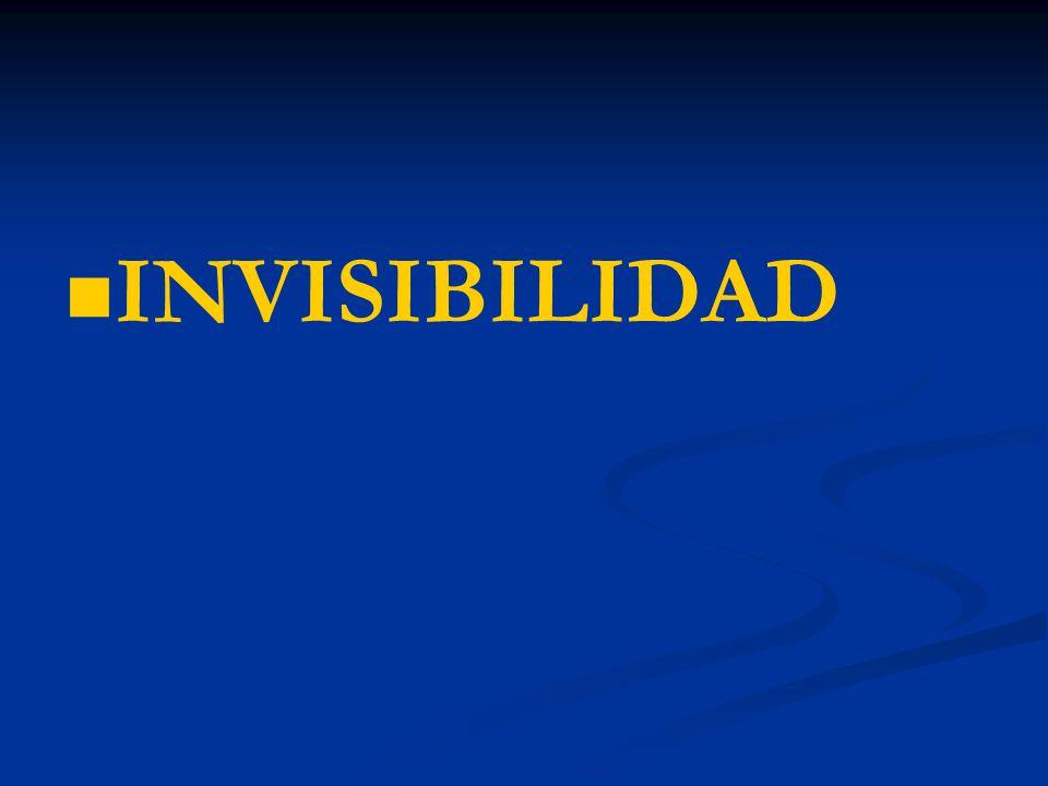 INVISIBILIDAD