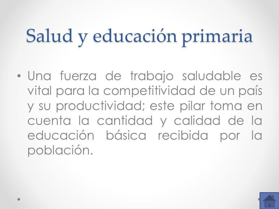 Salud y educación primaria