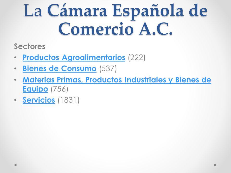 La Cámara Española de Comercio A.C.