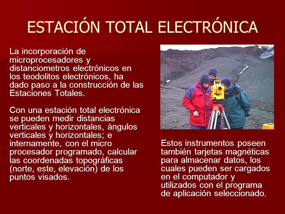 ESTACIÓN TOTAL ELECTRÓNICA
