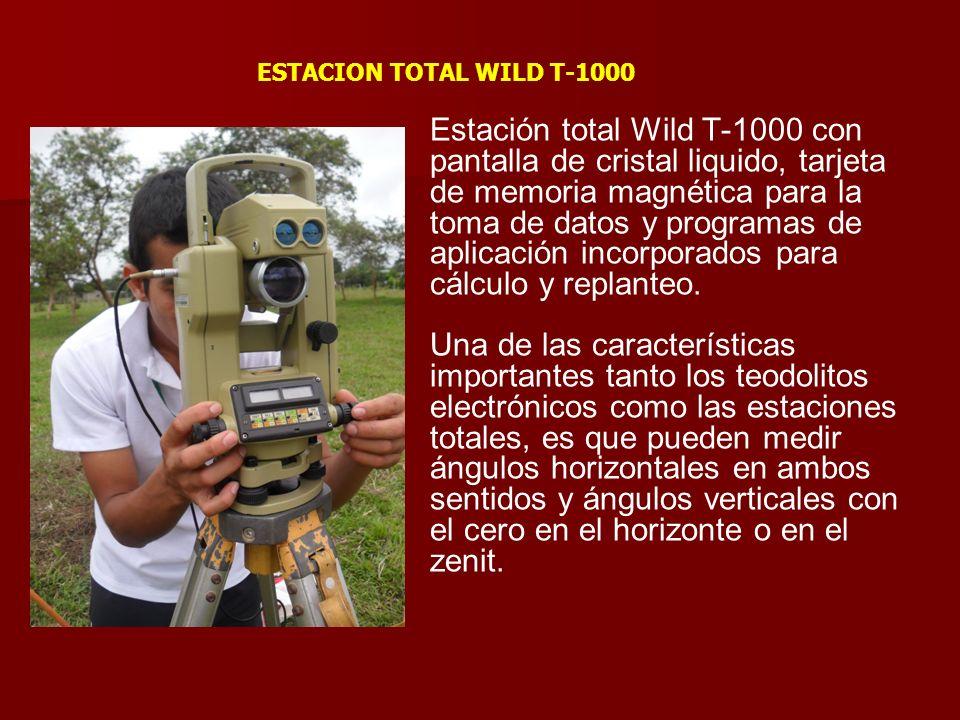 ESTACION TOTAL WILD T-1000