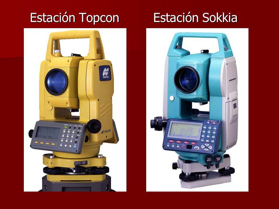 Estación Topcon Estación Sokkia