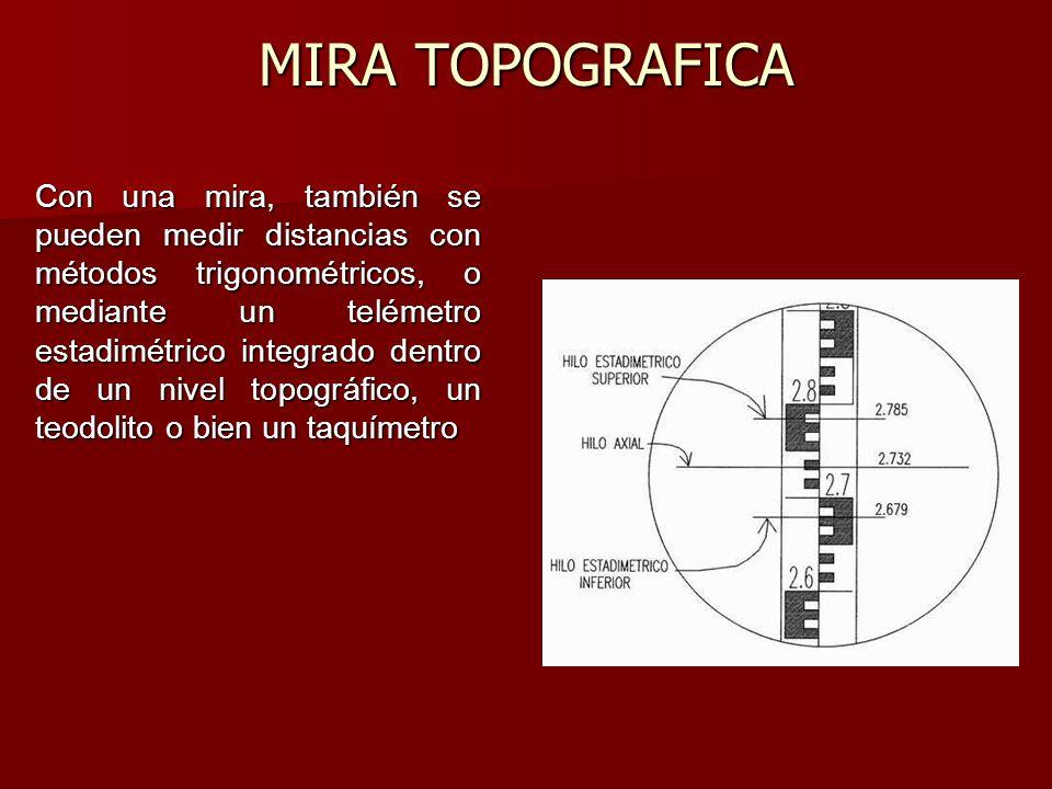 MIRA TOPOGRAFICA