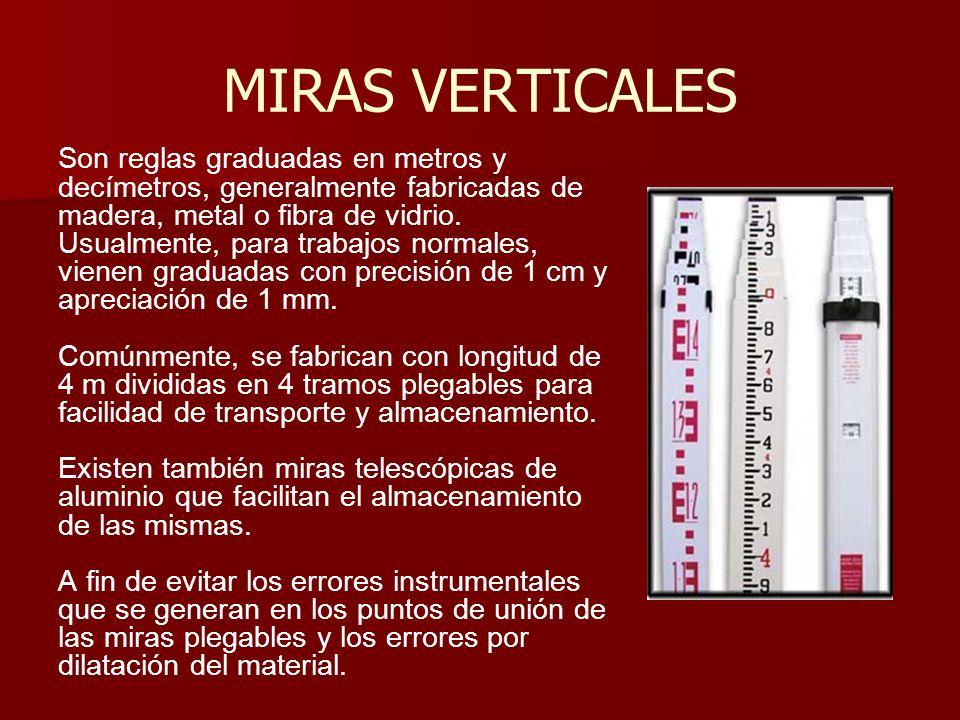MIRAS VERTICALES