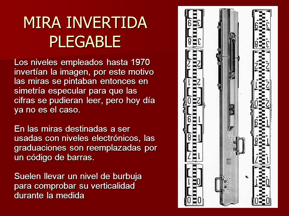 MIRA INVERTIDA PLEGABLE