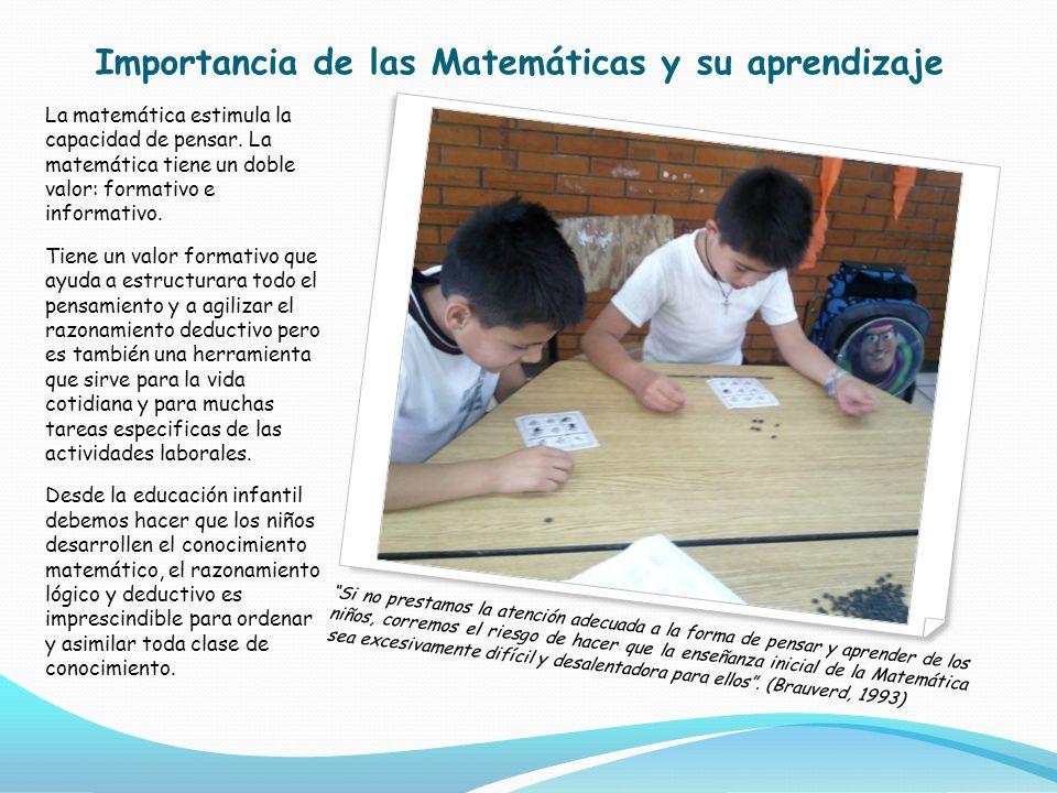 Importancia de las Matemáticas y su aprendizaje
