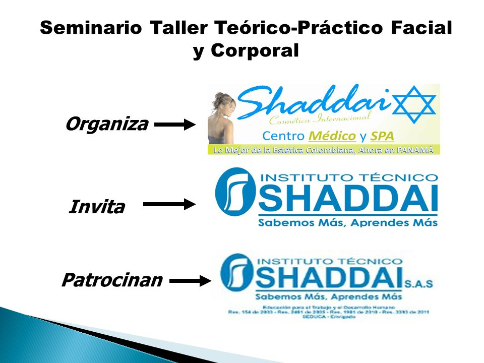 Seminario Taller Teórico-Práctico Facial y Corporal