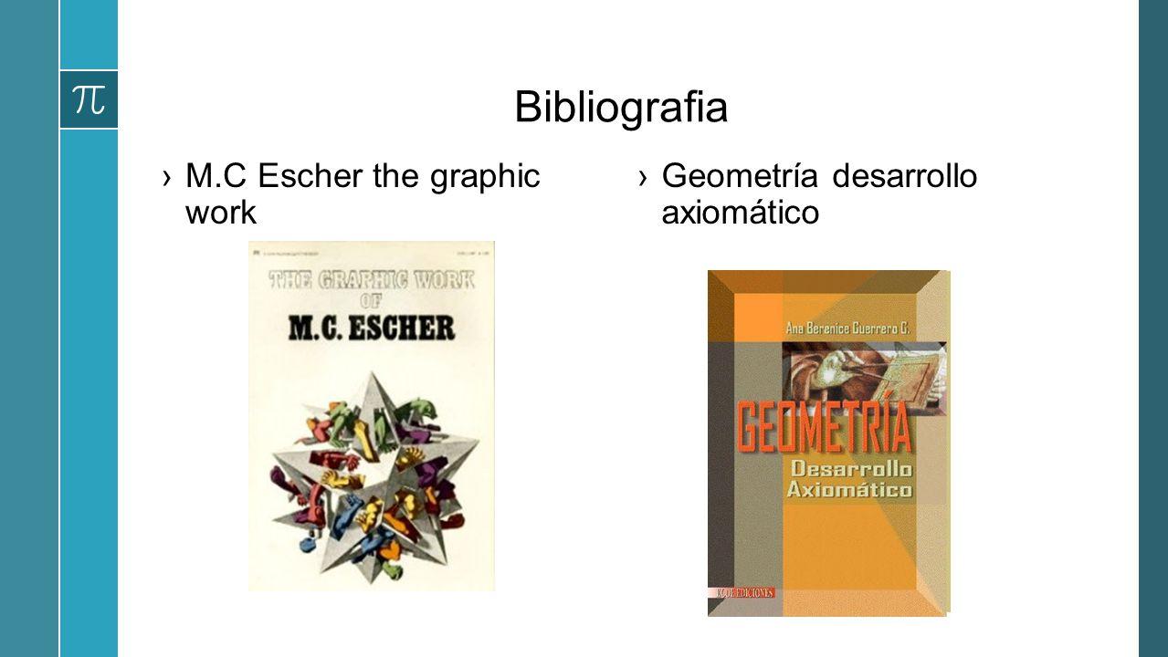 Bibliografia M.C Escher the graphic work