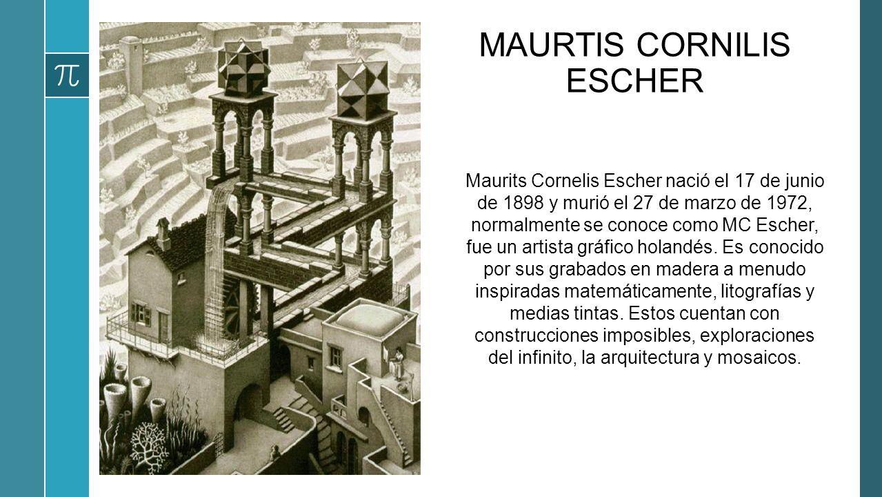 MAURTIS CORNILIS ESCHER