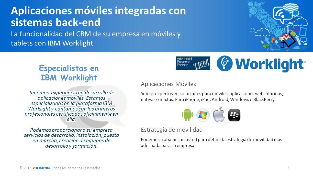 Aplicaciones móviles integradas con sistemas back-end