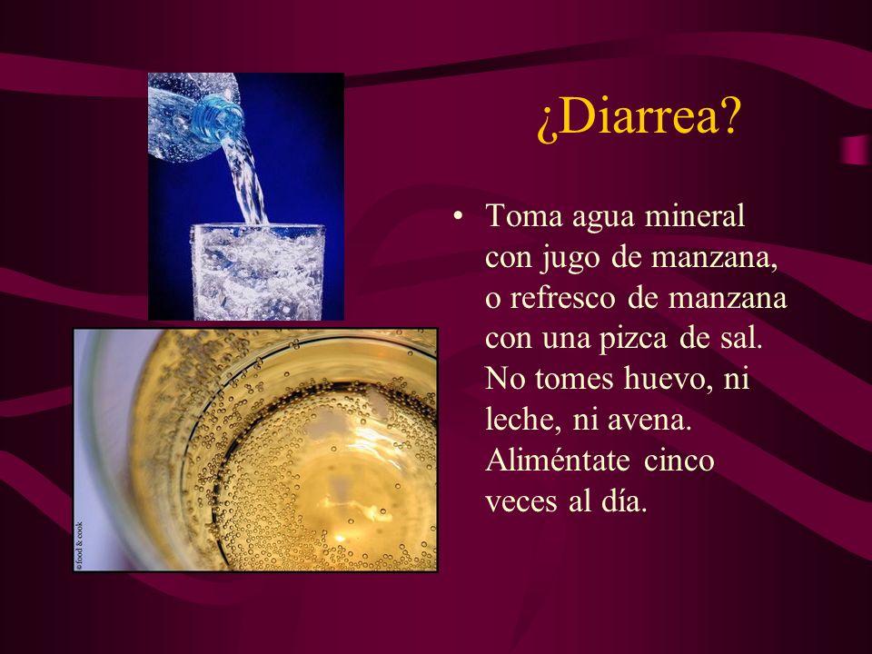 ¿Diarrea