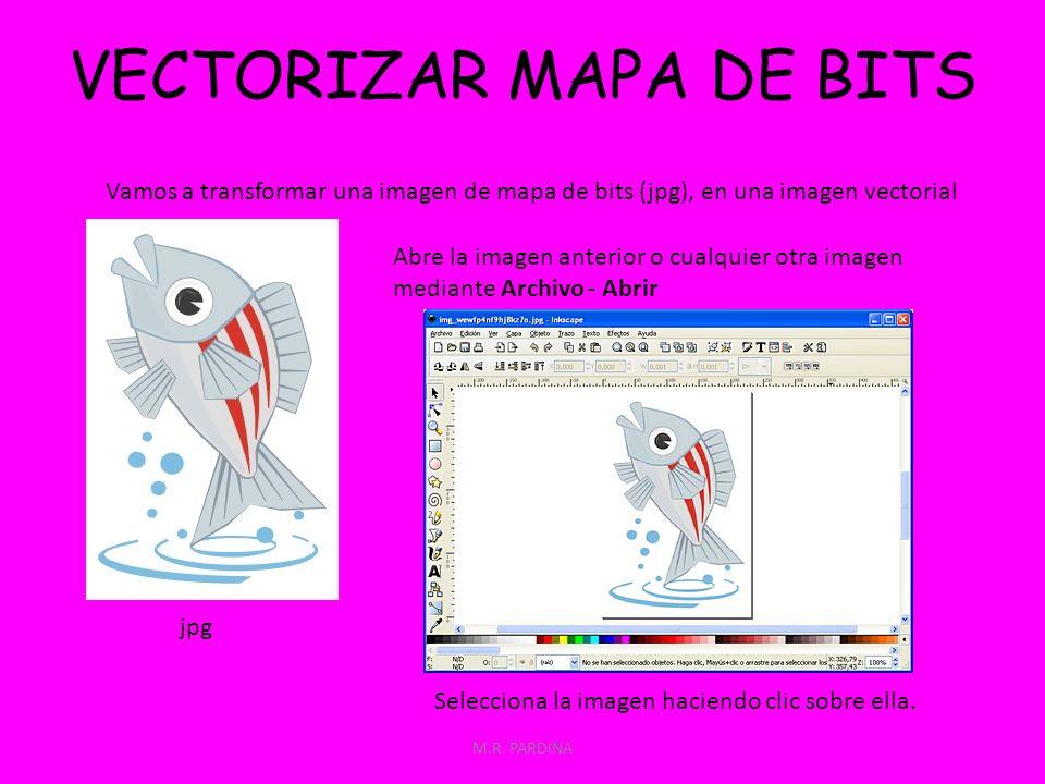 VECTORIZAR MAPA DE BITS